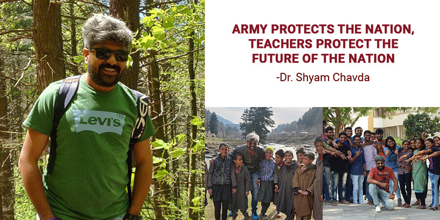 ARMY PROTECTS THE NATION, TEACHERS PROTECT THE FUTURE OF THE NATION