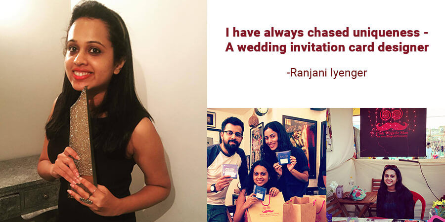 I Have Always Chased Uniqueness – a Wedding Invitation Card Designer