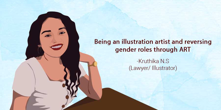 Being an Illustration Artist and Reversing Gender Roles Through Art